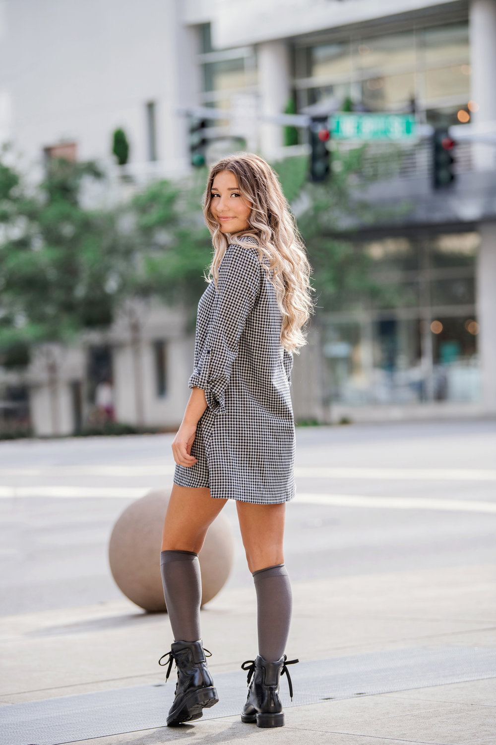 Spotted: senior stunner Sophia. - What is this beauty doing strolling the streets of Downtown Bellevue?