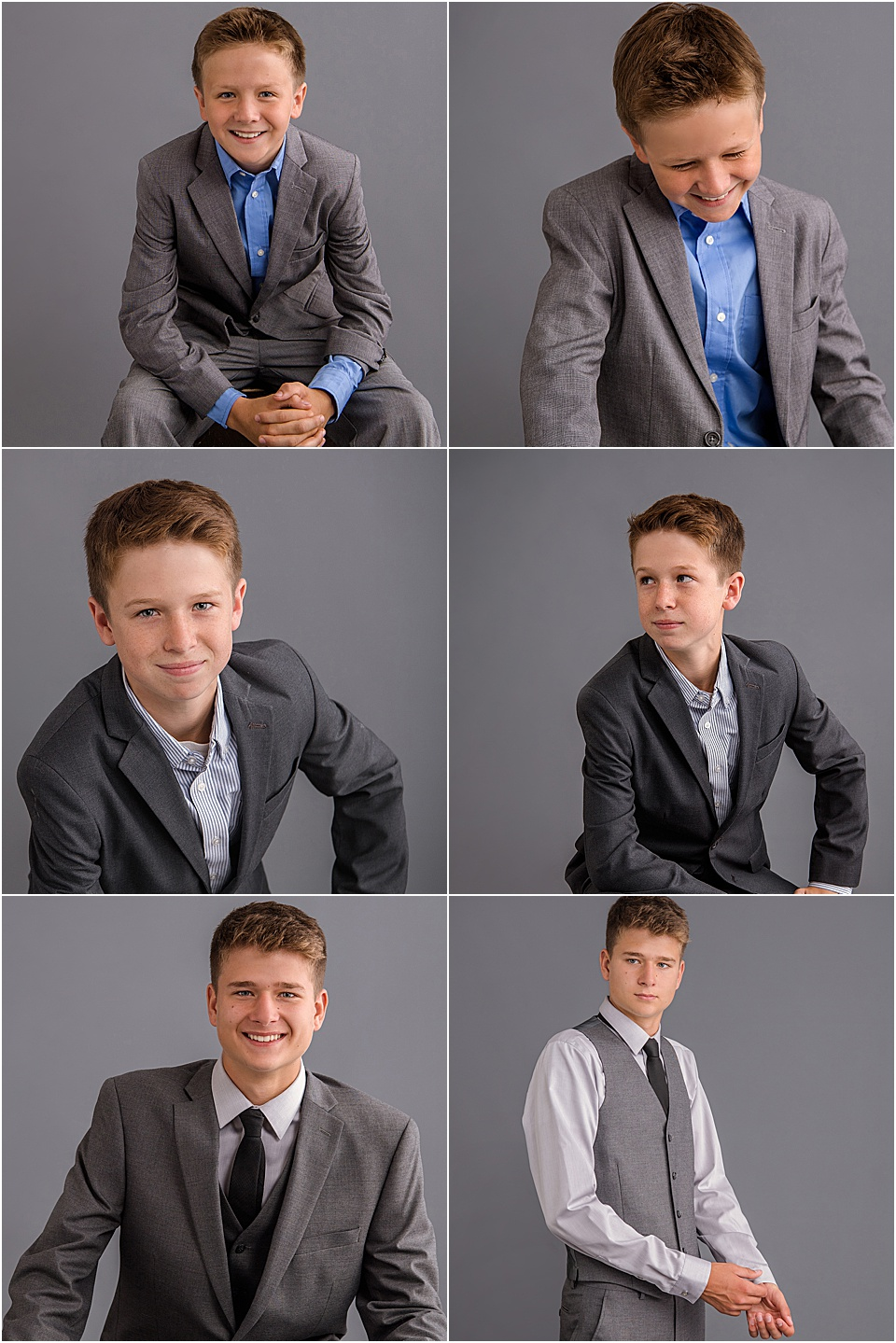 Studio B Portraits specializes in portraits of men and boys of all ages.