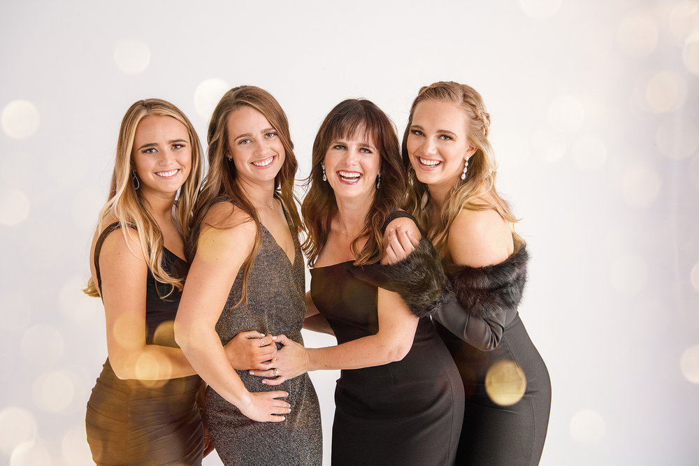 Beautiful formal family portraits with Mom and daughters at Studio B Portraits_Kasel-3164v.jpg