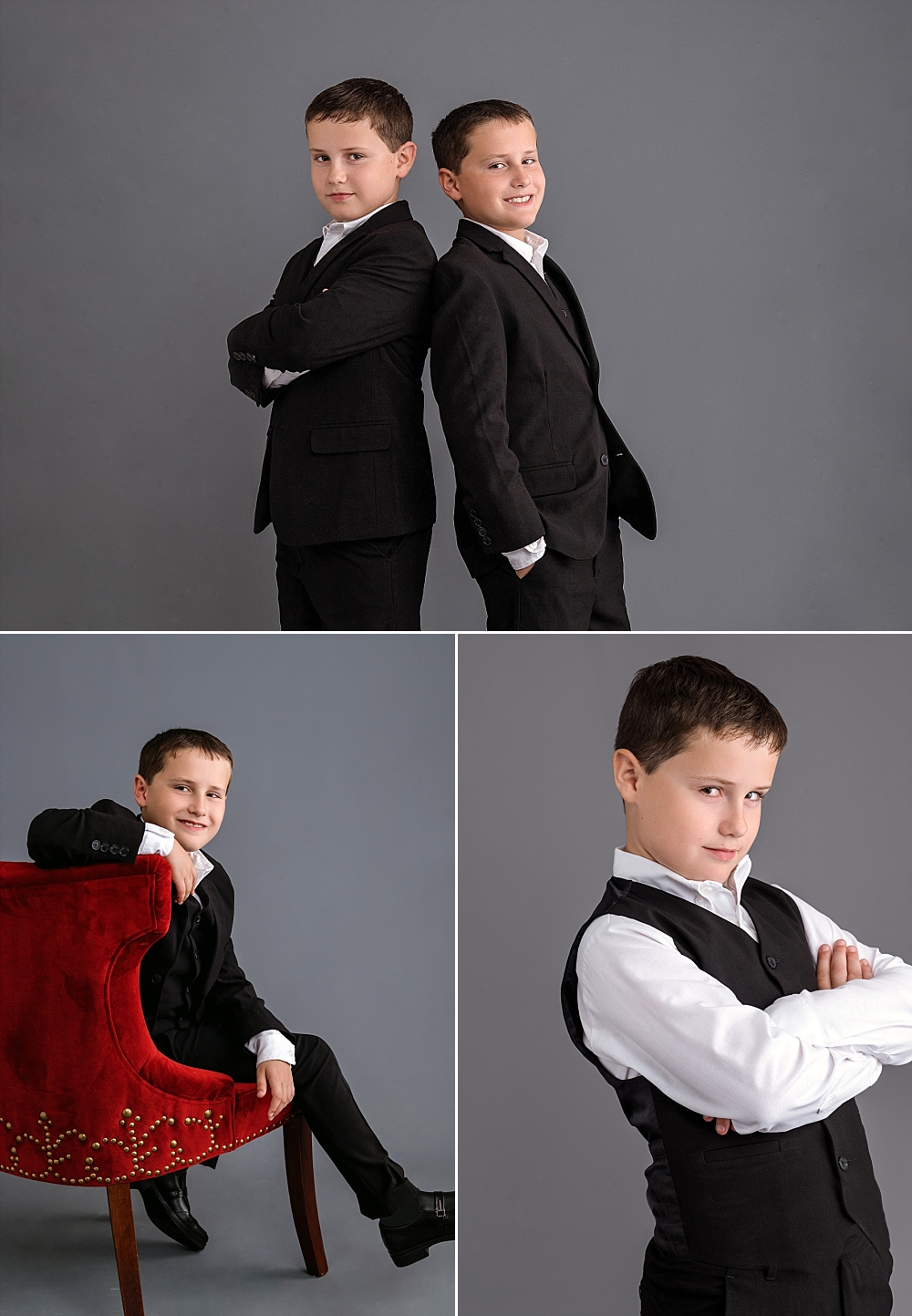 Twin boys in Calvin Klein suits_family portraits_Studio B_0216.jpg
