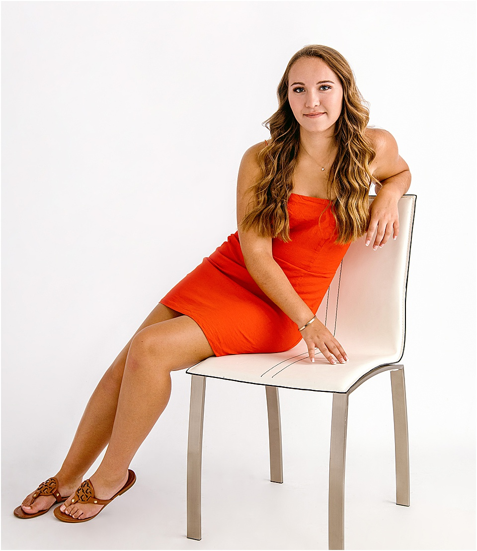 Studio B Seniors_beautiful brunette in red dress issaquah senior photos.jpg