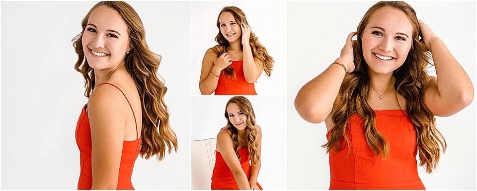 Studio B Portraits_beautiful girl in red dress bellevue senior photos.jpg