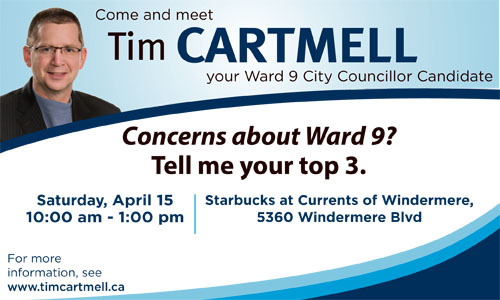 I'll be hosting a few events in Ward 9 in the coming weeks- please click here to view the calendar.  I hope to see you there!