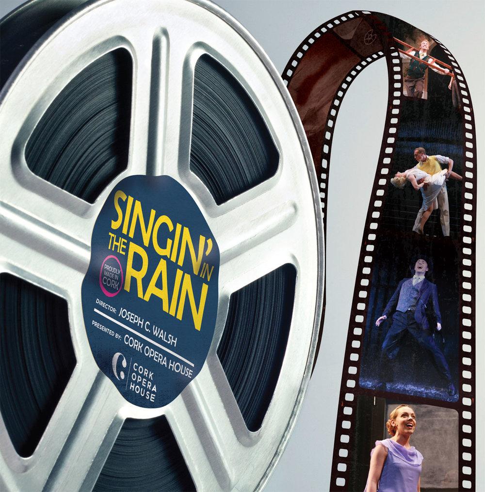 Singin In The Rain Brochure Cover