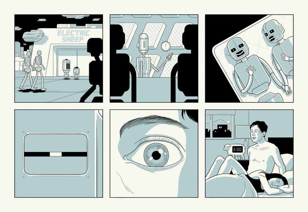 We Sleep, Robots Compose Our Dreams