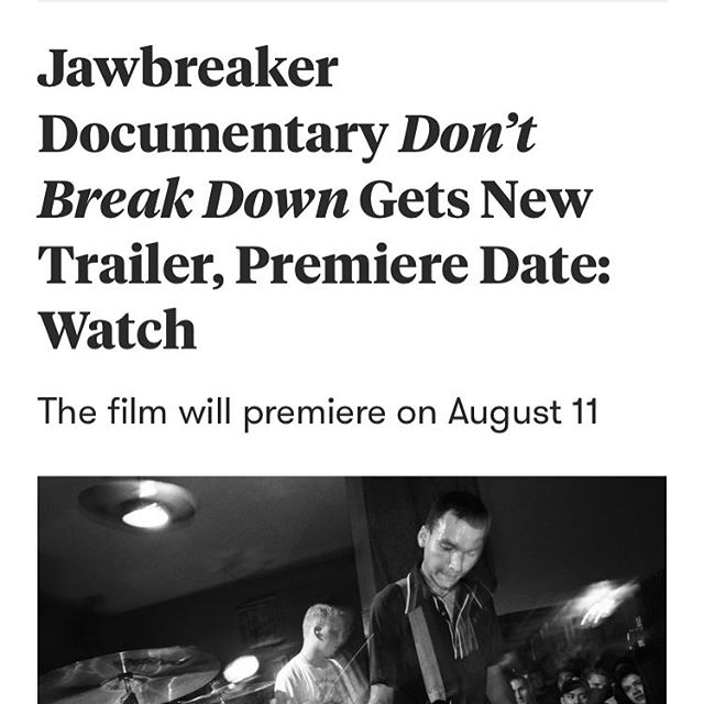 Premiere and trailer announced via @pitchfork. Link in bio!