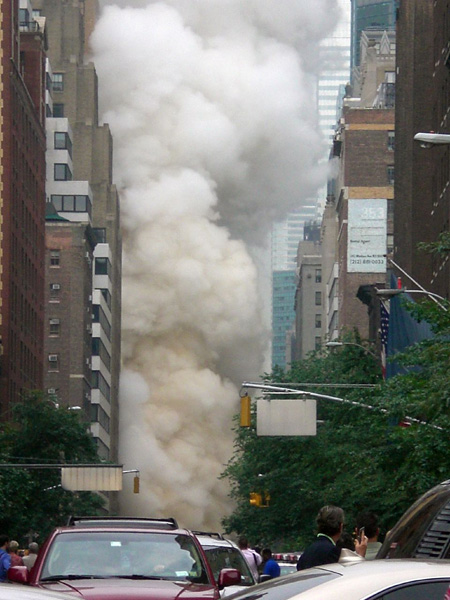 Steampipe explosion in Manhattan
