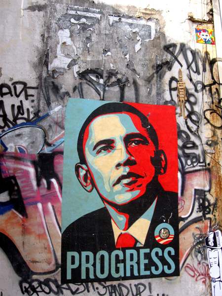 Progress by Shepard Fairey