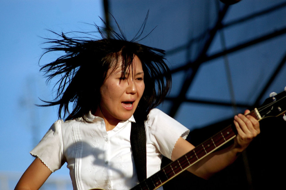 Deerhoof at McCarren Park Pool