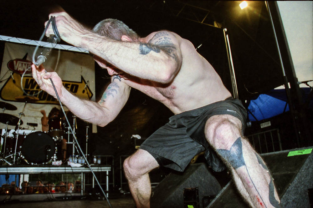 Rollins Band at Warped Tour 2001