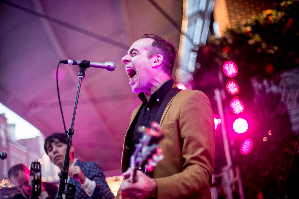 Ted Leo and the Pharmacists at Seaport Music Festival