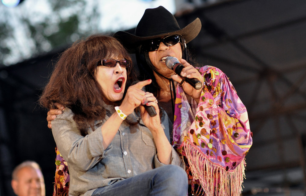 Ronnie Spector and ? and the Mysterians at Damrosch Park Bandshell