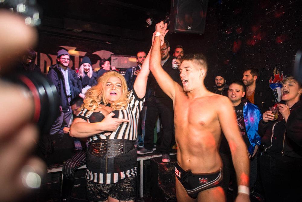 Zack Sabre Jr. vs. Chuck Taylor