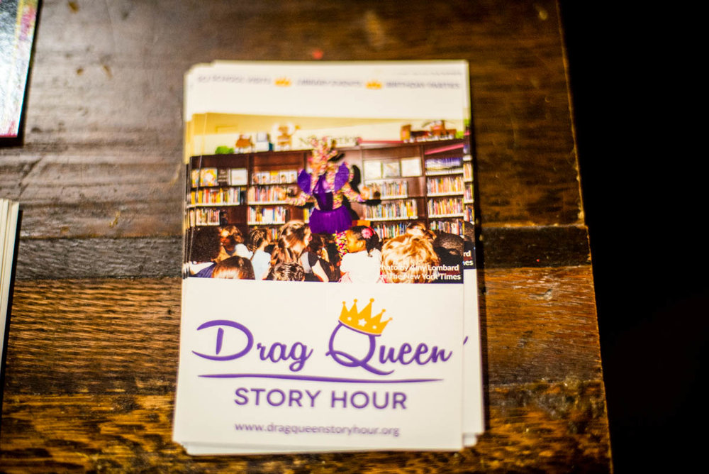 Drag Queen Story Hour postcards