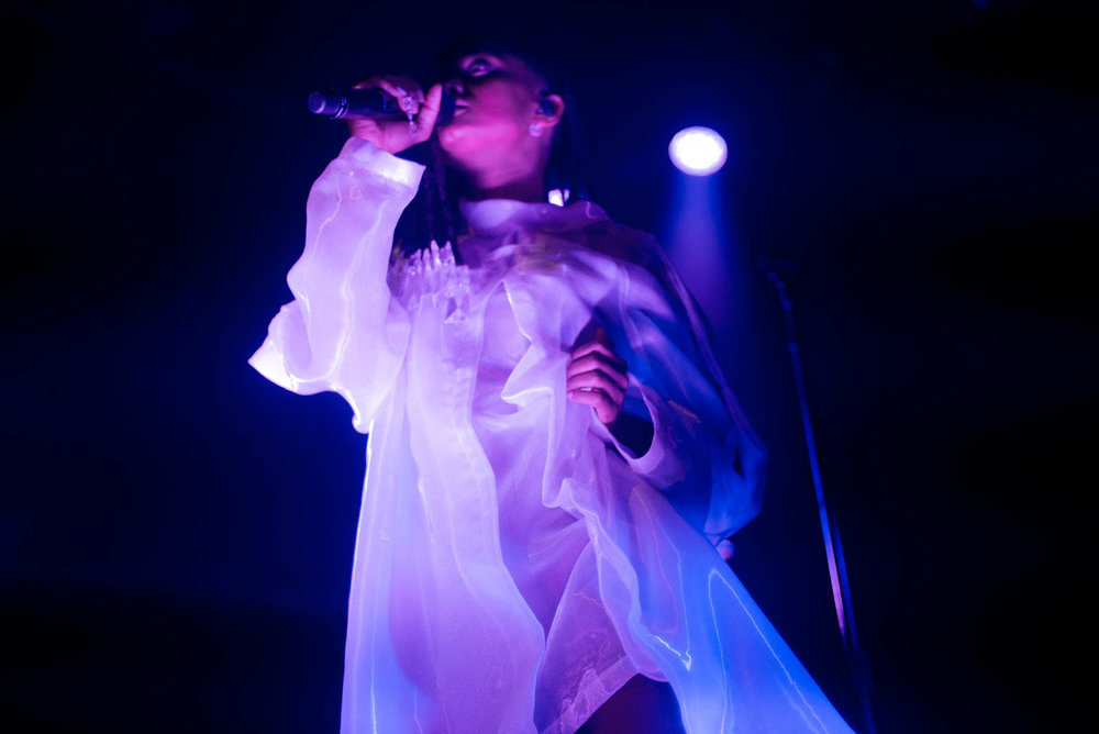 Kelela at Irving Plaza on Friday, March 2, 2018.