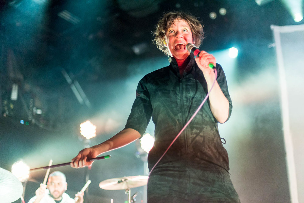 Tune-Yards at Brooklyn Steel on Friday, March 9, 2018.