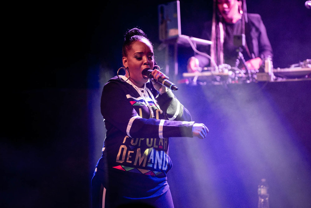 Rah Digga at Irving Plaza on Tuesday, April 9, 2018.