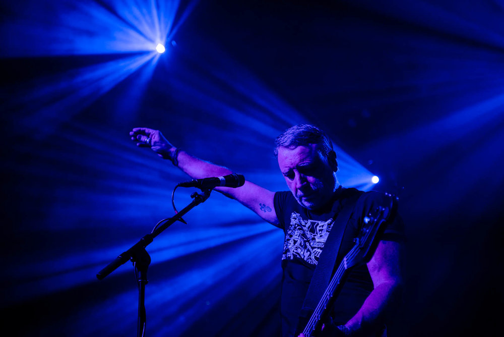 Peter Hook & The Light at Brooklyn Steel on Friday, April 27, 2018.