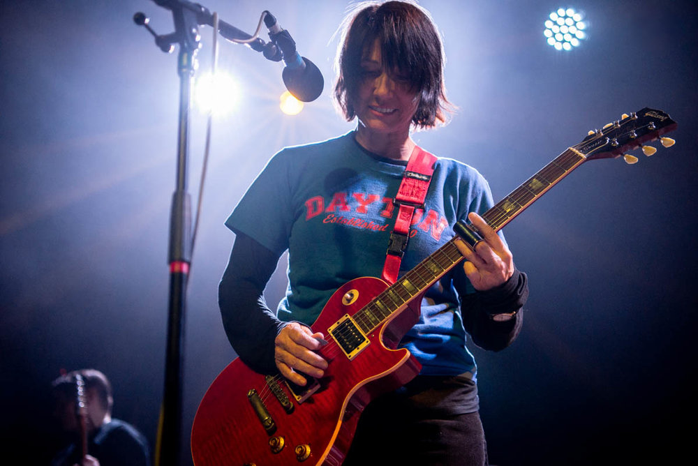 The Breeders at Brooklyn Steel on Monday, April 30, 2018.