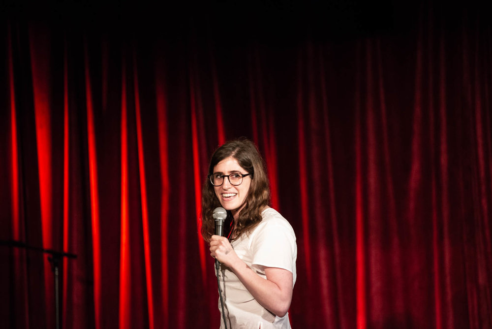 Emmy Blotnick during The Final Sasheer Zamata Party Time at The Bell House on Sunday, July 15, 2018.