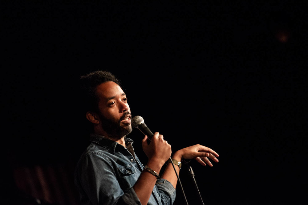 Wyatt Cenac during The Final Sasheer Zamata Party Time at The Bell House on Sunday, July 15, 2018.