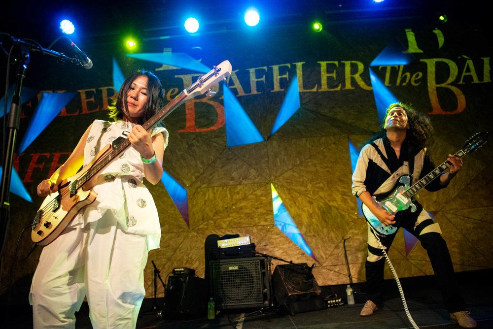 Deerhoof at The Baffler's 30th anniversary on Saturday, August 25, 2018.