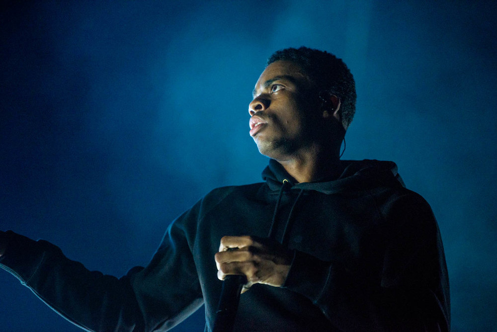 Vince Staples during OctFest on Governors Island on Saturday, September 8, 2018.