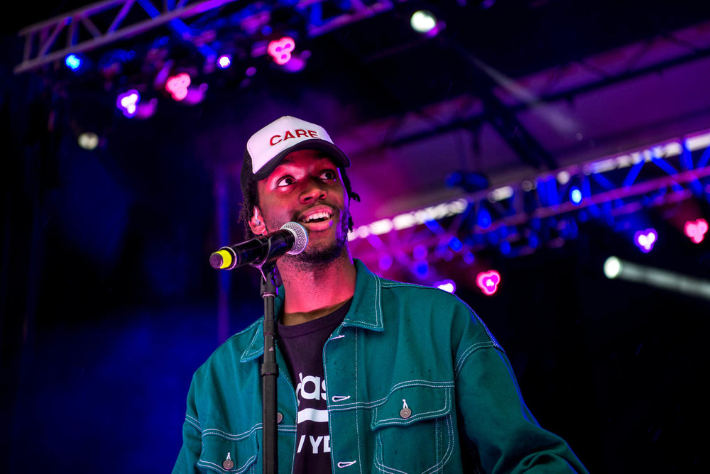 Saba during OctFest on Governors Island on Saturday, September 8, 2018.