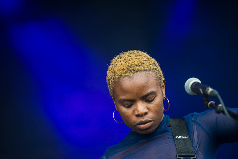 Vagabon during OctFest on Governors Island on Saturday, September 8, 2018.