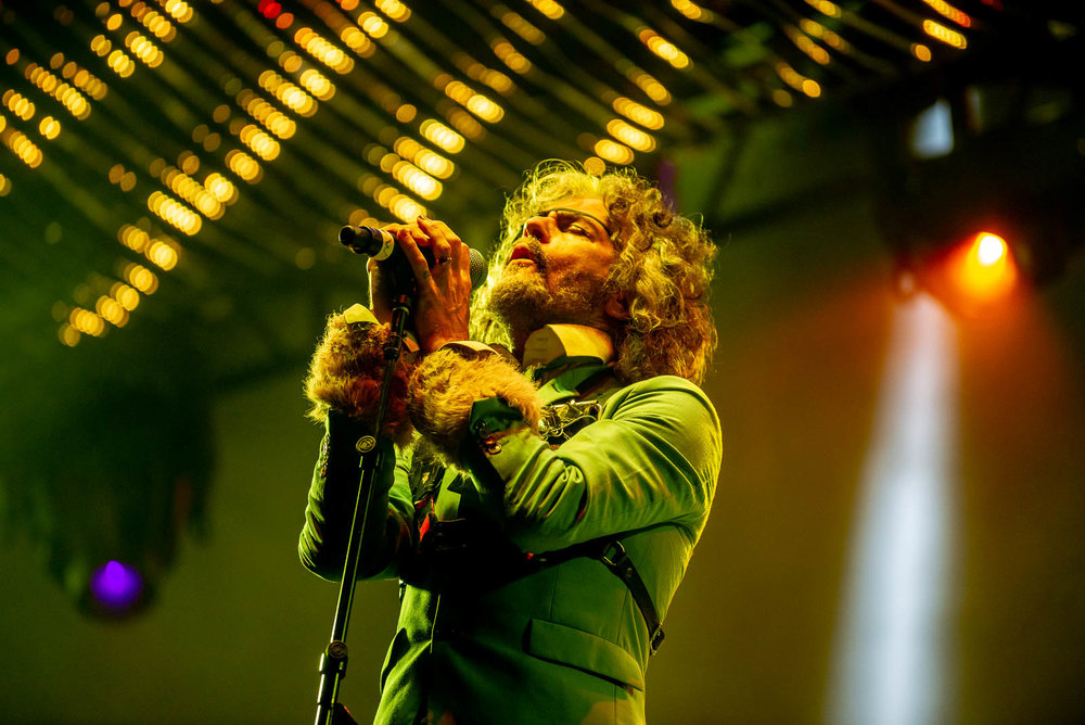 Wayne Coyne of The Flaming Lips during OctFest on Sunday, September 9, 2018.