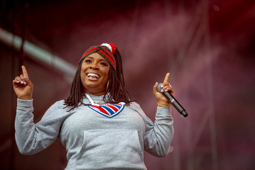 Oakland rapper Kamaiyah during OctFest on Sunday, September 9, 2018.