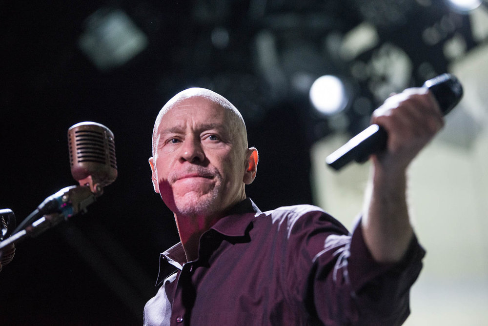 Matt Johnson of The The performing at Brooklyn Steel on Sunday, September 16, 2018.