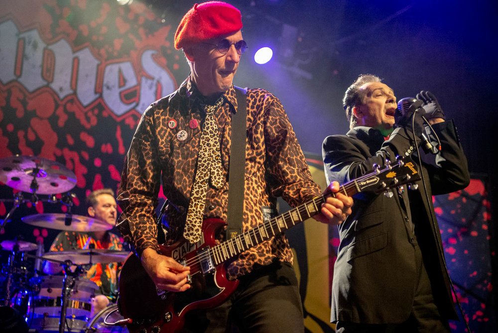 The Damned at Irving Plaza on Thursday, October 18, 2018.