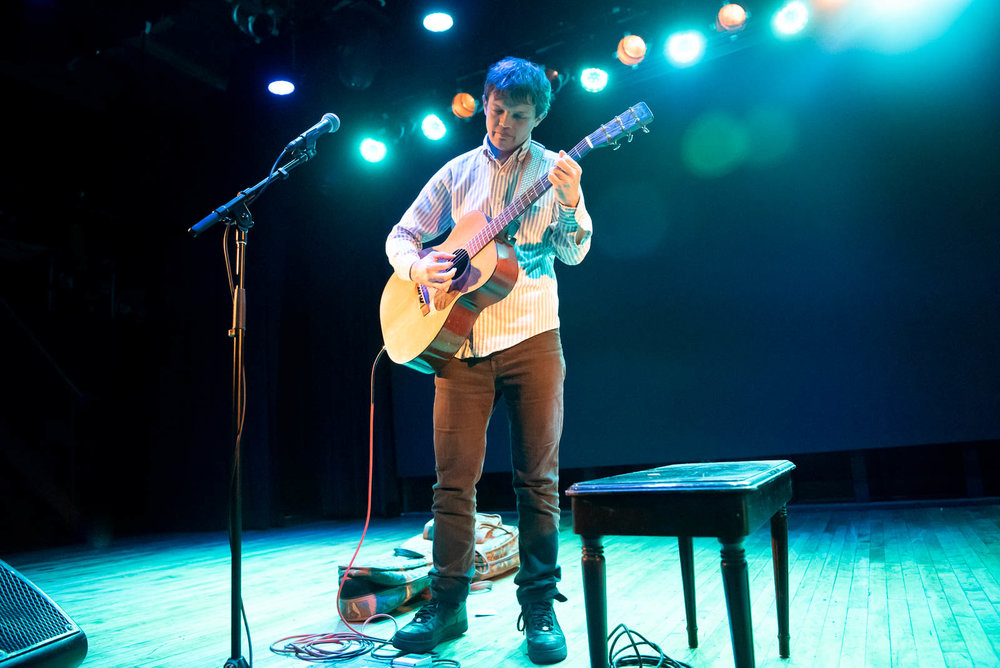 William Tyler at Warsaw on Friday, November 9, 2018.
