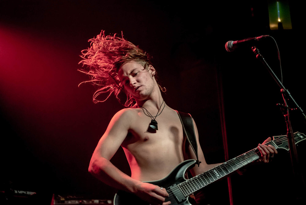 Alien Weaponry performing at Irving Plaza on Friday, December 7, 2018.