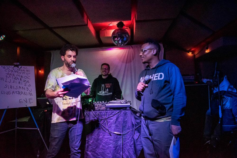 MC Paul Barman & Donwill at The Safari Room at El Cortez