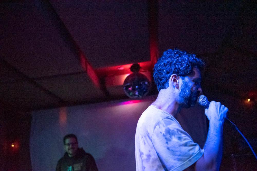 MC Paul Barman at The Safari Room at El Cortez