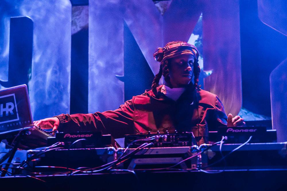 HR performs at a DJ set Irving Plaza on Monday, April 1, 2019.