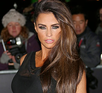 Katie Price  TV Personality