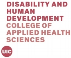 Click on logo to learn more about the UIC Dept. of Disability & Human Development