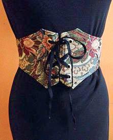 Tapestry Waist Cincher