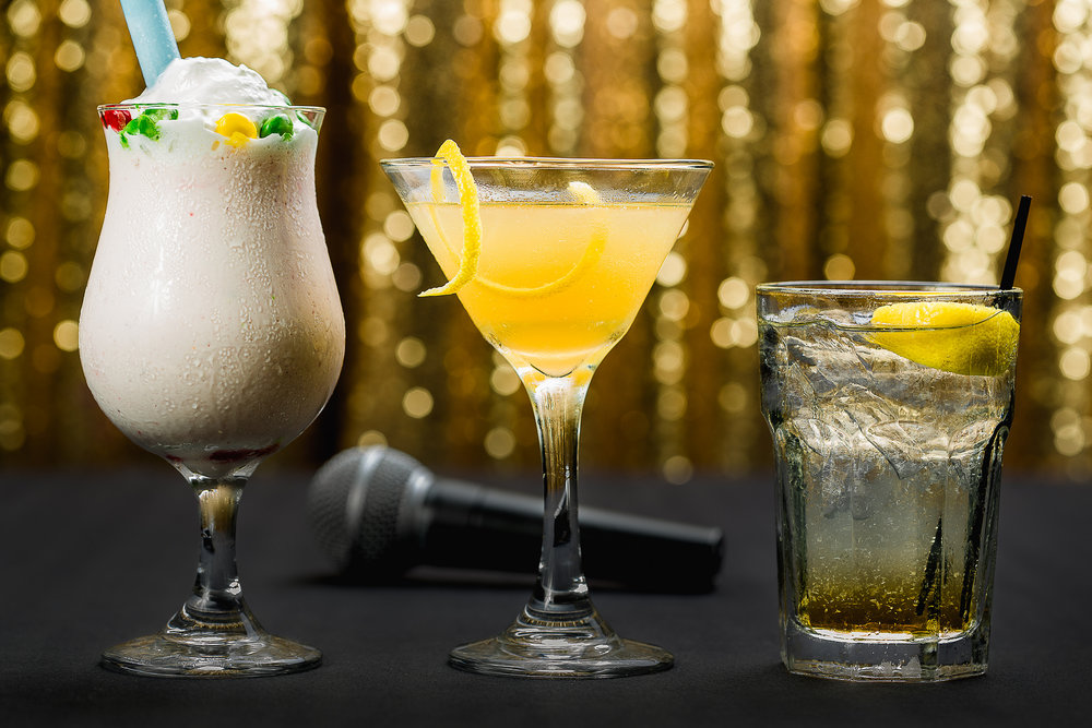 Adult Milk Shake, Cocktails, and Spirits