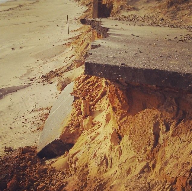 Image by Rachel Pachter. Municipal management plans should redirect intensifying use of coastal resources away from high erosion zones.