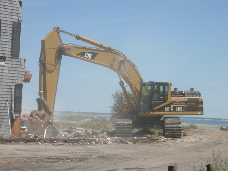 Demolition activity is capable of destroying more than the footprint of the building.