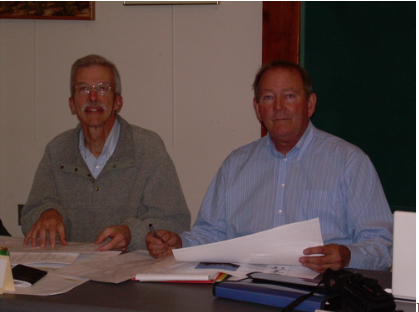 John Riehl, Wellfleet Natural Resources Advisory Board; Gordon Peabody (chair)