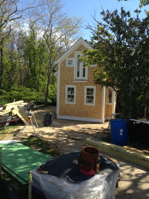 Shingling completed.