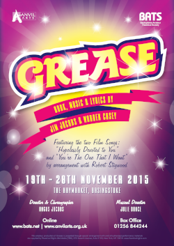 Grease - Nov 2015