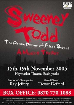 Sweeney Todd - Nov 2005
