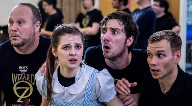 Alyssia Kershaw in rehearsal for the Wizard of Oz