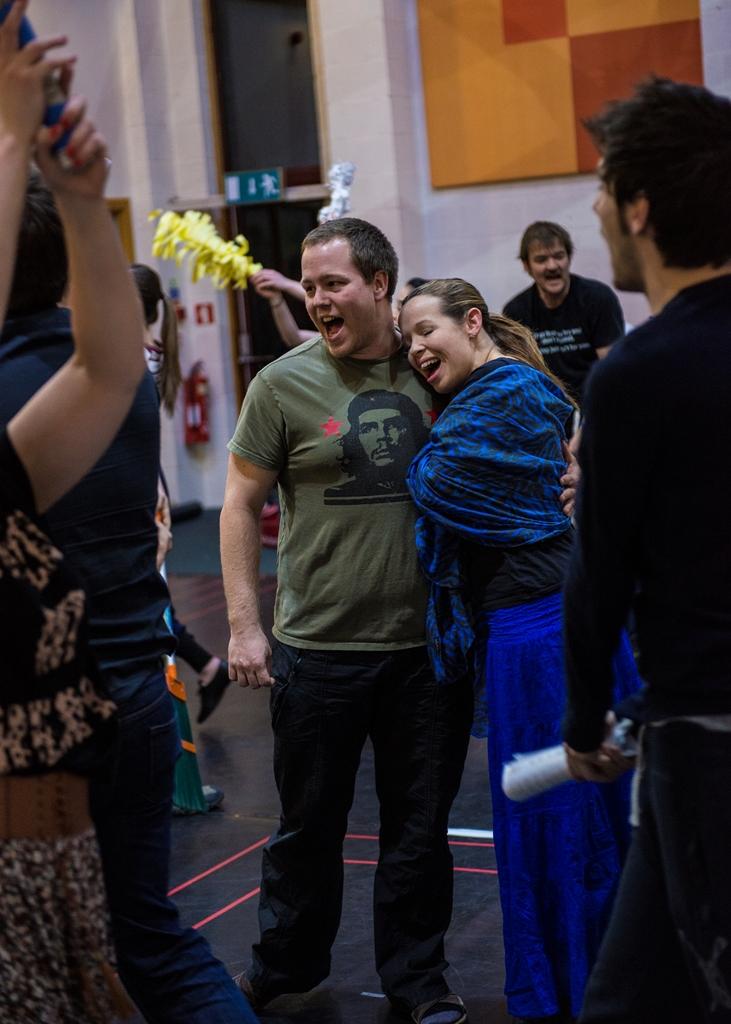 Jamie Trick in rehearsal | BATS, Jesus Christ Superstar